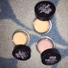 Color Tattoo Bundle (3) Comes with two just beige and one nude pink. Barely used, showed in picture. Remind me of the painterly pots from MAC. Cheaper on Ⓜ️ercari Maybelline Makeup Eyeshadow