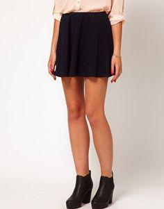 #asos                     #Skirt                    #ASOS #Skater #Skirt #Texture #asos.com             ASOS Skater Skirt in Texture at asos.com                                      http://www.seapai.com/product.aspx?PID=1310844