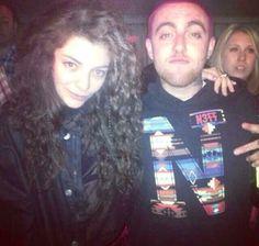 Lorde & Mac Miller..