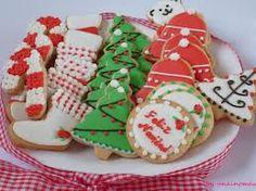 galletas navidad fondant - Buscar con Google