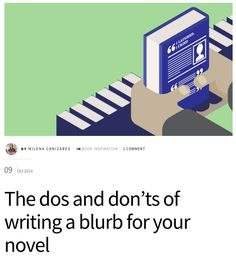The dos and don'ts of writing a blurb for your novel