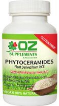 PHYTOCERAMIDES 350mg RICE PLANT DERIVED dr oz best vitamins GLUTEN FREE #1 CERAMIDE Supplements : Your search for the best Phytoceramides is over! Oz Supplements is an anti-aging R&D skincare company with medical doctors on it's board that stays abreast of anti-aging skincare breakthroughs. We are in the business of helping you to look and feel your best. $17.98