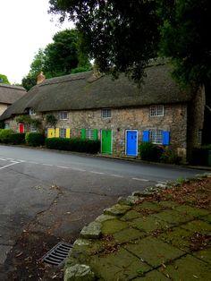 Lulworth, Dorset, England, UK — FUCKITANDMOVETOBRITAIN Corfe Castle, Castle Combe, Dorset England, England Uk, Invisible Cities, Splash Photography, Unique Buildings, Unique Doors, Isle Of Wight