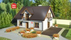 Attic House, Concept Home, Good House, Design Case, Home Fashion, Gazebo, House Plans, Shed, 1