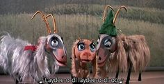 The Lonely Goatherd Song makes me happy.