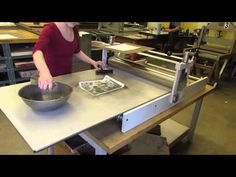 Lithography on a Pronto Plate - YouTube