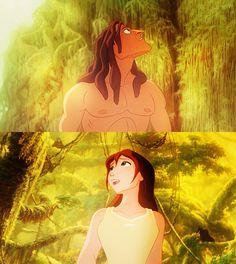 Tarzan & Jane. Disney