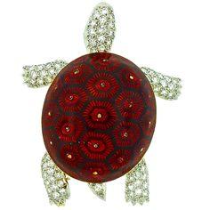 A BOUCHERON PARIS Turtle Pin