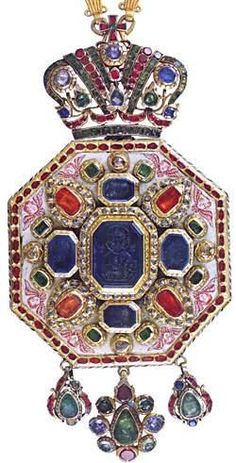 Jewels of the Romanovs Church Treasures - Panagia 2 Royal Crown Jewels, Royal Crowns, Royal Jewelry, Tiaras And Crowns, Fine Jewelry, Jewelry Making, Fashion Bracelets, Fashion Rings, Fashion Jewelry