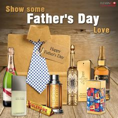 When Papa has it all but you gotta show some love #FathersDay #Flemingo #DutyFree #Srilanka #Gifts #DutyFreeShopping
