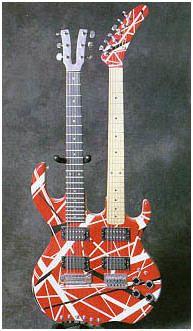 Pour le plaisir des yeux, une restrospective des guitares d'Eddie (avec quelques #FrankenStrat)