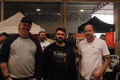 Esq p Dir: Marcelo Taucci, Eldder Magri ( Tshirt Black  Motorface ), Sergio Levy | Evento LRclubeSP em Mogi das Cruzes/SP | 19 Ago 2017
