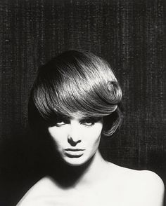 Grace Coddington photographed by Terence Donovan, 1961.