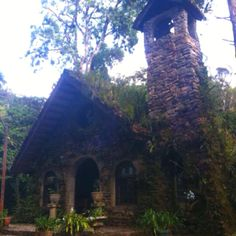 Church in the Selva Negra Rainforest. Matagalpa, Nicaragua