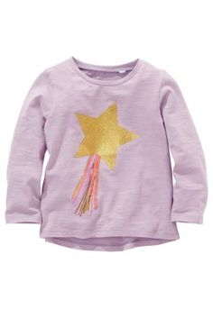 Buy Lilac 3D Star T-Shirt (3mths-6yrs) from the Next UK online shop
