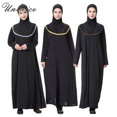 >> Click to Buy << Linen Embroidery Muslim Dress Islamic Abaya Turkish Women's Maxi Dresses Long Sleeve Headwear Ramadan Clothing  #Affiliate