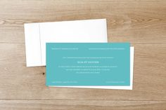 Faire-part mariage Chic turquoise by Sibylle Derkenne pour Rosemood.fr #fairepart #mariage #wedding