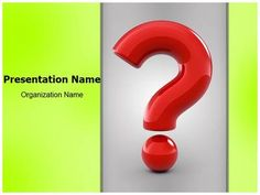 Check out our professionally designed Question Mark PPT template. Download our Question Mark PowerPoint presentation affordably and quickly now. Get started for your next PowerPoint presentation with our Question Mark editable ppt template. This royalty free Question Mark Powerpoint template lets you to edit text and values and is being used very aptly for Question Mark, icon, doubt, search, symbol, difficulty and such PowerPoint presentation.
