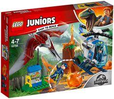 Buy LEGO Juniors 10756 Jurassic World Pteranodon Escape from our Construction Toys range at John Lewis & Partners. Lego Batman, Lego Junior Sets, Talkie Walkie, Shop Lego, Lego Juniors, Used Textbooks, Lego Jurassic World, Gift Finder, Lego Duplo