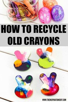 How To Recycle Crayons Frugal Living Tutorial · The Inspiration Edit