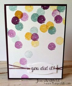 Stamped Silly: Creation Station: Work of Art, Blast Off and all things Twine!