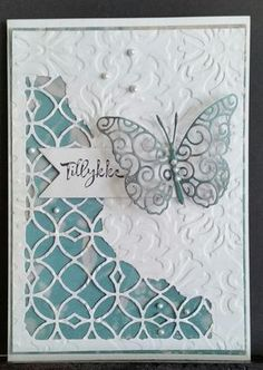 Image result for Tim holtz mixed media #1 Tim Holtz Dies, Mixed Media Cards, Embossed Cards, Stamping Up Cards, Card Maker, Get Well Cards, Die Cut Cards, Butterfly Cards, Pretty Cards
