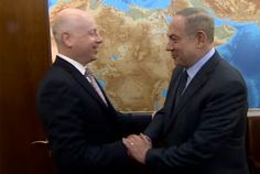 The envoy, Jason Greenblatt, is due to meet Palestinian president Mahmoud Abbas in the occupied West Bank on Tuesday