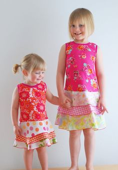 Children Spring Upcycled Dress Children Clothing by LittleOvercoat, $30.00