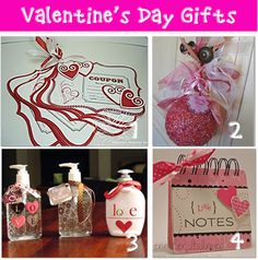 Homemade Valentine Gifts