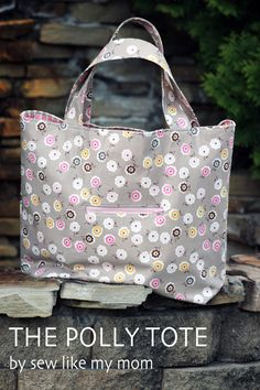 The Polly Tote bag Tutorial