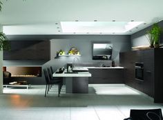 """dining """"teppanyaki"""" style for our new kitchen ! I love it !"""