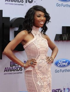 Actress/singer Brandy Norwood attends the BET Awards 13 | UPI