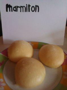 Kluski na parze - boulettes de pain à la vapeur (Pologne))