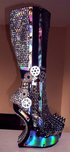 2013 Super Cool Galaxy Print Boots #galaxy #boots www.loveitsomuch.com