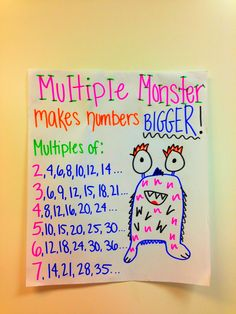 Multiples; do another called Factor Fairy (or something) that makes numbers smaller.