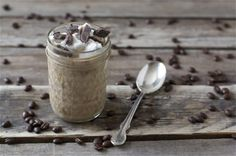 This rich, creamy, chocolatey Coffee Pudding is a decadent dessert that's easy to make and perfect for Valentine's Day! Just Desserts, Delicious Desserts, Dessert Recipes, Good Food, Yummy Food, Chocolate Coffee, Chocolate Pudding, Chocolate Dreams, Eat Dessert First