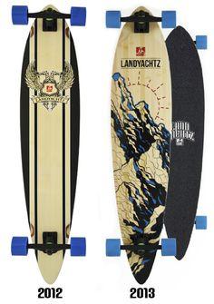 Landyachtz Bamboo Pinner Longboard Complete