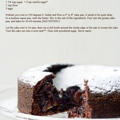 Swedish Chocolate Cake Recipe Desserts with salted butter, cocoa powder, sugar, flour, eggs