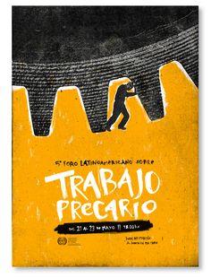 Afiche Social by Florencia Buraschi, via Behance