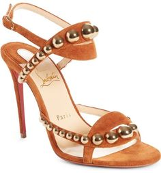 Christian Louboutin 'Galeria' Ornament Sandals