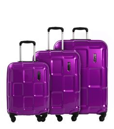 epic Crate EX 3-Set 76/66/55cm purplePASSION
