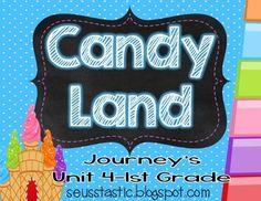 Candy Land Journey's Unit 4-1st Grade