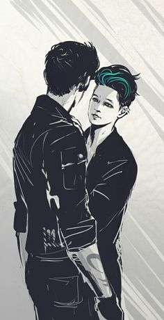 Malec art (Alec, Magnus, Mortal Instruments, Shadowhunters)