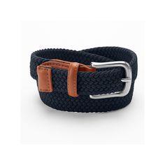 Boys 4-20 IZOD Braided Stretch Belt, Boy's, Size: Medium, Blue (Navy)