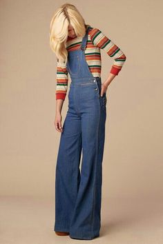 70s bell overalls