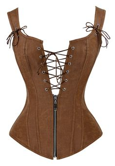 Looking for Charmian Charmian Women's Renaissance Lace Up Vintage Boned Bustier Corset Garters ? Check out our picks for the Charmian Charmian Women's Renaissance Lace Up Vintage Boned Bustier Corset Garters from the popular stores - all in one. Corset Overbust, Lace Corset, Corset Sexy, Corset Tops, Corset Outfit, Leather Corset, Bustiers, Fashion Clothes, Medieval Clothing