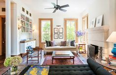Michelle Williams' light-filled space embodies the appeal of its white-washed walls and eclectic decor.