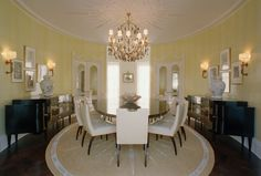 KELLY WEARSTLER | INTERIORS. Bel Air Residence, Dining Room