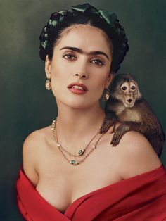 Frida Khalo Hair by Selma Hayek