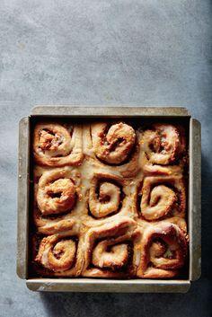 Cinnamon-Orange Pinwheels - Christmas Breakfast Recipes - Cooking Light